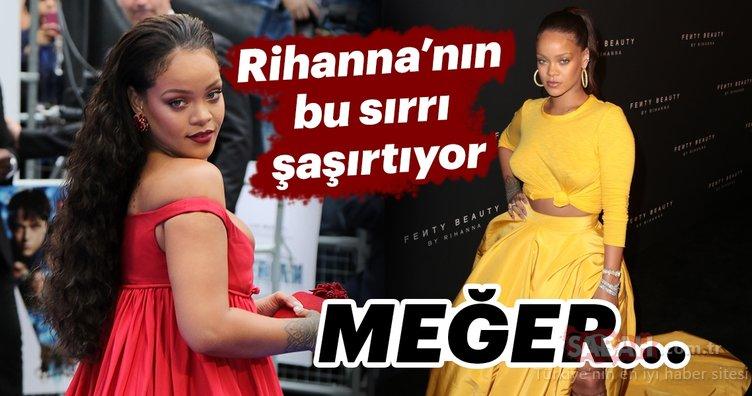 Rihanna'nın bu sırrı şaşırtıyor! Meğer...