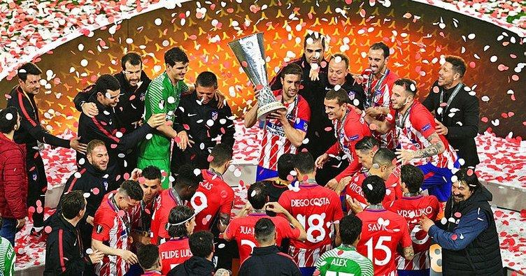 UEFA Avrupa Ligi'nde şampiyon Atletico Madrid