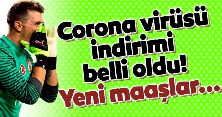 Galatasaray'da corona virüsü indirimi belli oldu! Yeni maaşlar...