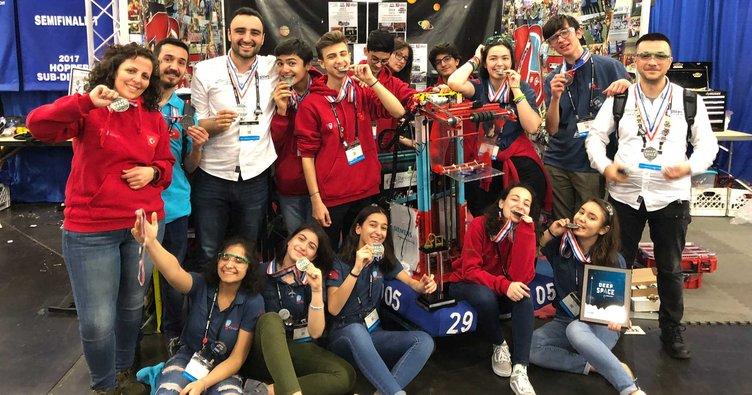 Darüşşafaka Robot Kulübü dünyanın en iyileri arasında!