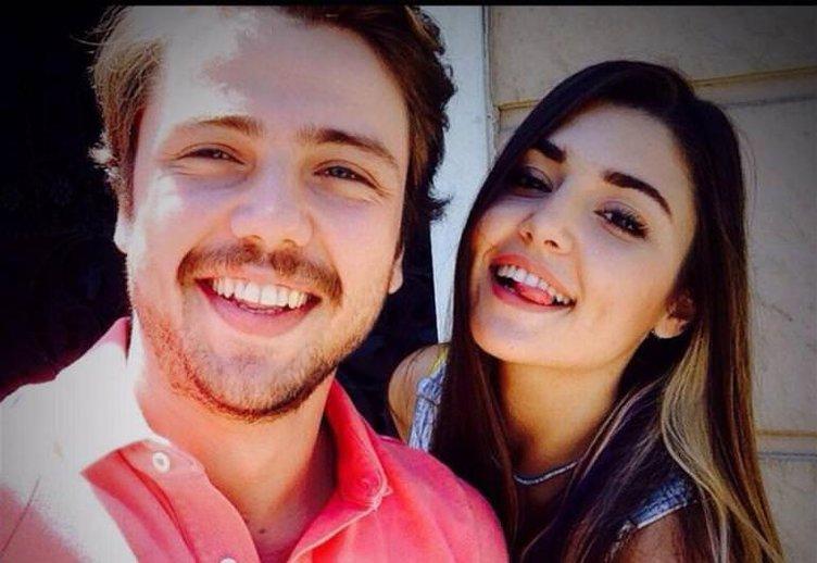 Tolga Sarıtaş ile Hande Erçel'in olay fotoğrafı