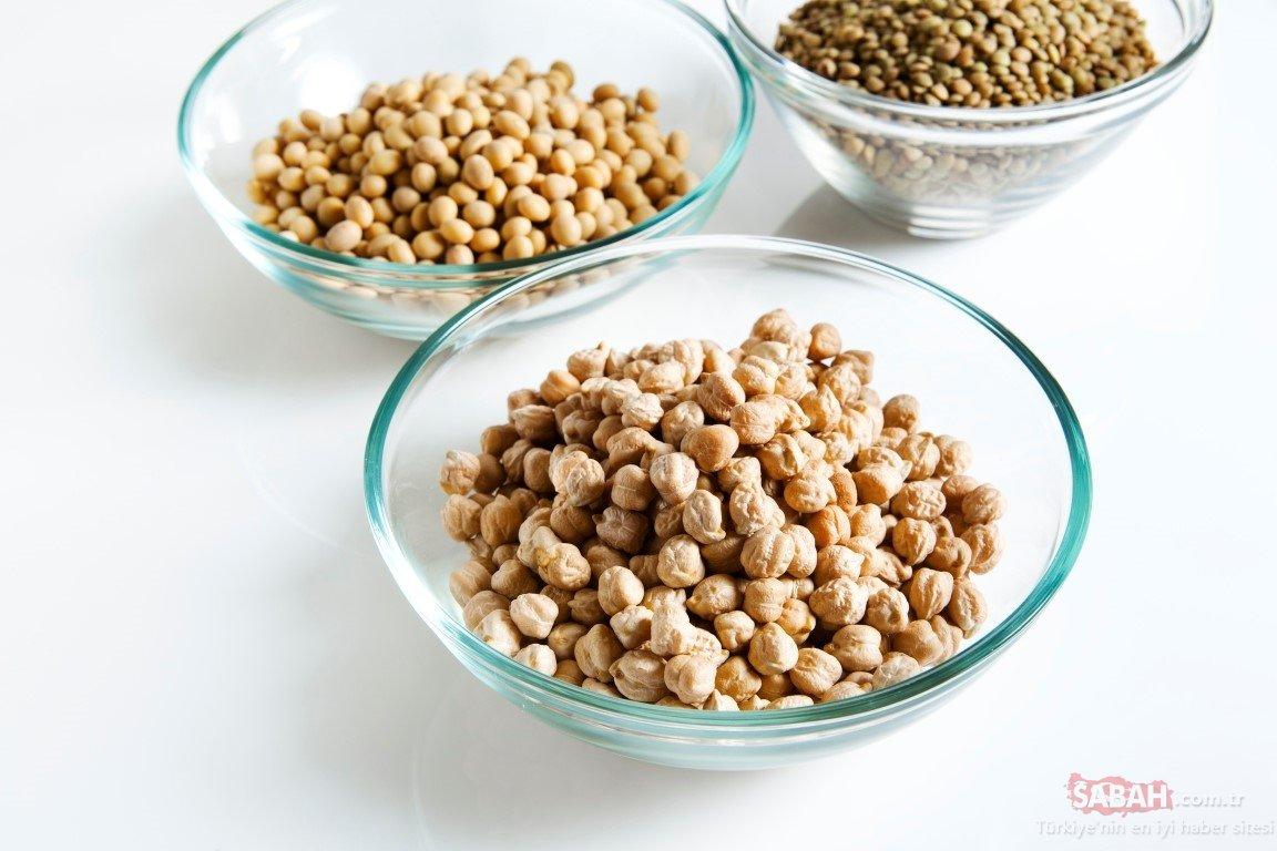 Süper besin kalsiyum deposu leblebinin faydaları şaşırtıyor! Günde 1 avuç leblebi hastalıklara kalkan…