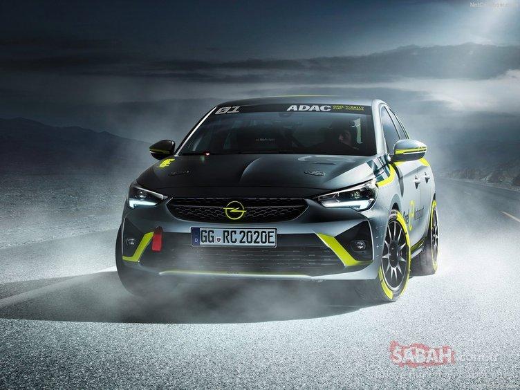 İşte karşınızda ilk elektrikli ralli arabası: Opel Corsa-e Rally