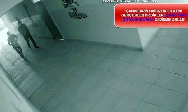 Gaziantep'te kamu binalarından hırsızlık yapan iki zanlı tutuklandı