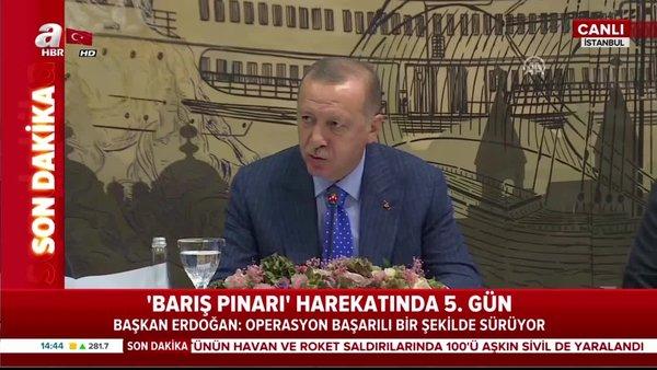 Başkan Erdoğan'dan Azerbaycan ziyareti öncesi harekata dair önemli açıklamalar