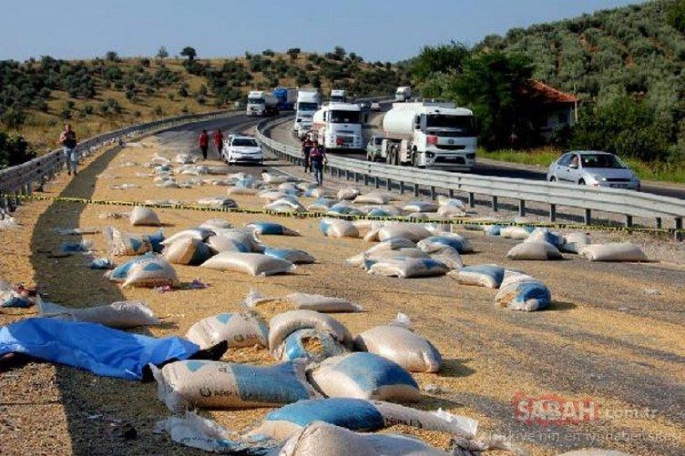Manisa'da feci kaza! Ortalık savaş alanına döndü