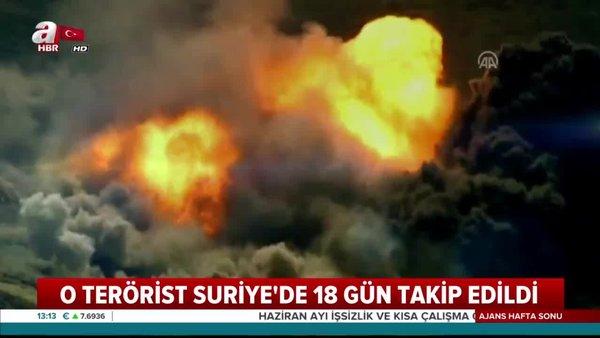 18 günlük takiple müthiş operasyon! PKK'lu Filiz Aslan SİHA ile vuruldu | Video