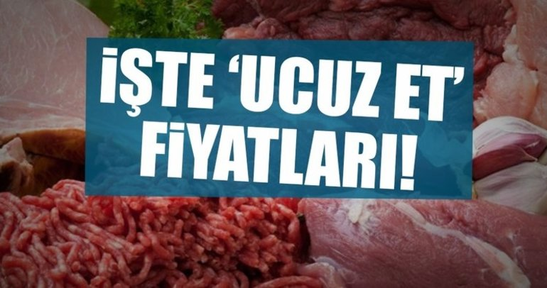 Türkiye'de en pahalı ve en ucuz et nerede satılıyor?