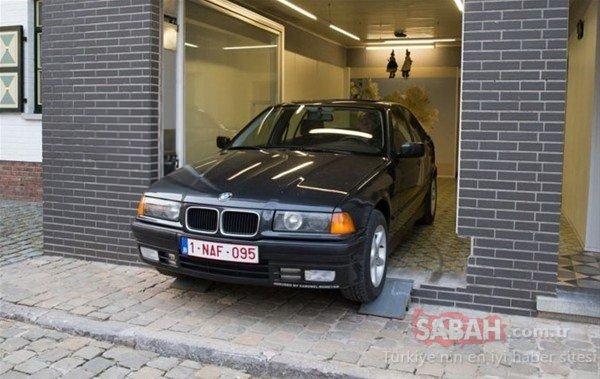 Belediye garaj izni vermeyince bakın nasıl çözüm buldu