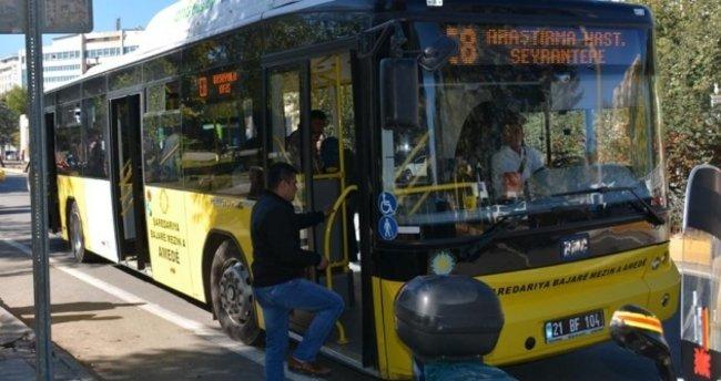 Diyarbakır'da ücretsiz otobüs kartında sınır kalktı