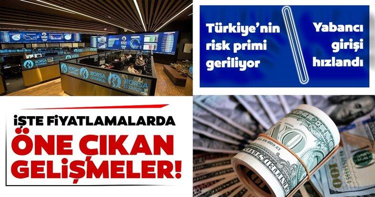 Dolar kuru haftaya nasıl başladı? Türkiye'nin risk primi gerilerken yabancı girişi hızlandı: Borsa İstanbul'dan yeni rekor geldi