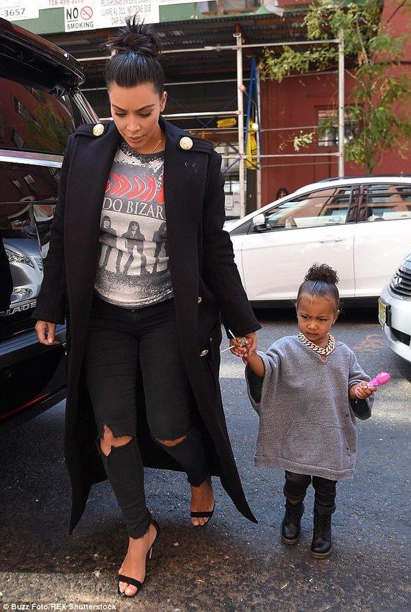 Kardashian'ın kızı babasının izinde!