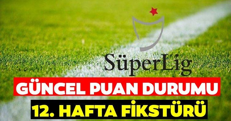 Süper Lig Puan Durumu: TFF ile 12. Hafta öncesi Süper Lig puan durumu nasıl? İşte 10 Aralık güncel puan tablosu ve 12. Hafta fikstürü