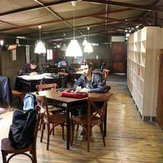 TÜGVA'dan Kitap Kafe