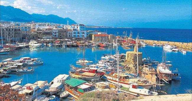 Sonbahar güneşi Kıbrıs'ta bambaşka