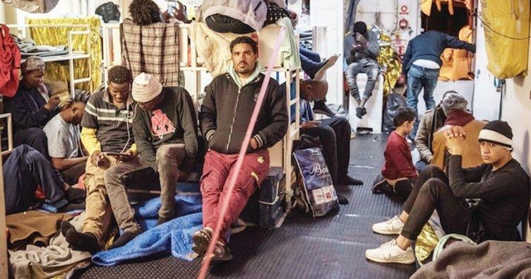 49 mülteci Avrupa'ya sığamadı