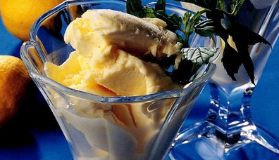Limonlu Vanilyalı Ev Dondurması