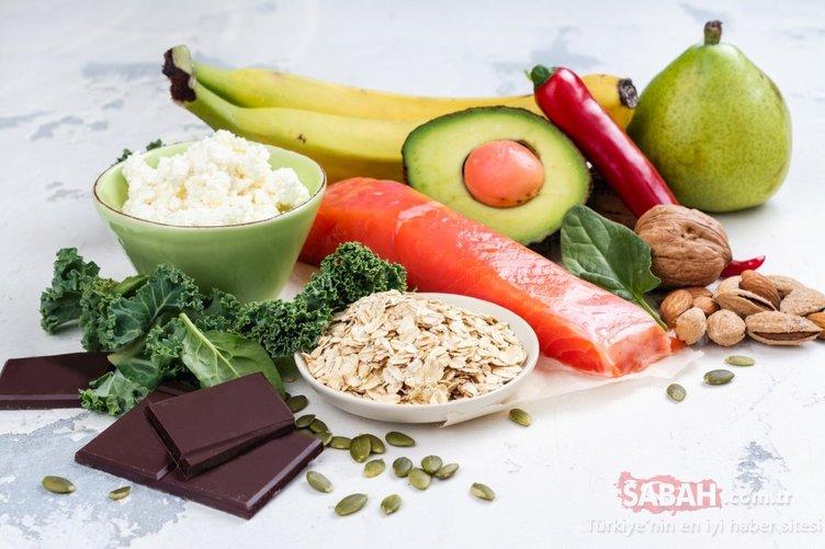 Bu besinler direkt beyni etkiliyor ve...