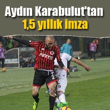 Aydın Karabulut'tan 1,5 yıllık imza