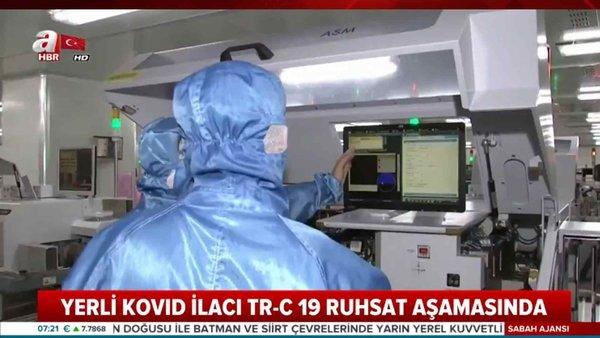 Yerli Koranavirüs İlacı TR-C 19 Kullanıma Hazır!