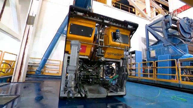 Yerli denizaltı robotu Kaşif sondaj gemilerinin denizdeki gözü olacak | Video
