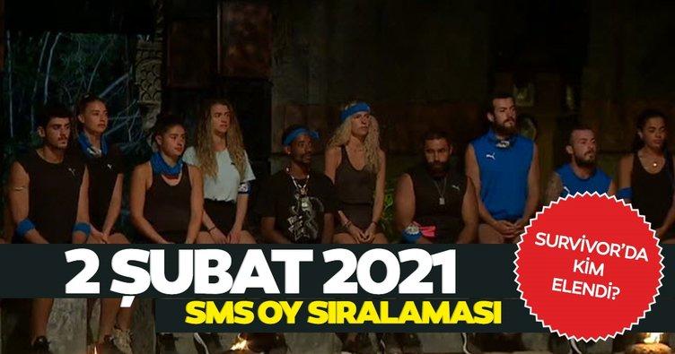 Survivor'da dün akşam kim elendi, kim gitti? 2 Şubat 2021 Survivor yarışmasına veda eden isim şoke etti!
