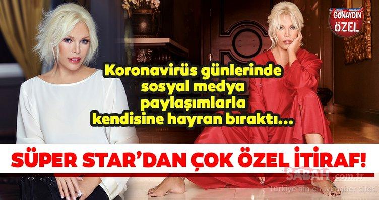Sosyal medyadayaptığı paylaşımlarla kendisine hayran bırakan Ajda Pekkan'dan çok özel açıklamalar...