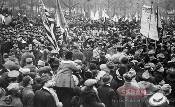 Tarihi fotoğraflar! Amerikan haber ajansı dünyaya servis etti...