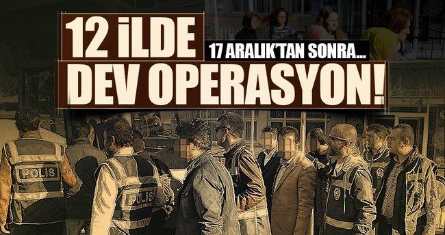 Samsun'da FETÖ'den 17 tutuklama