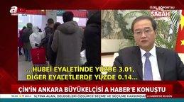 Son dakika! Çin'in Ankara Büyükelçisi'den flaş koronavirüs açıklaması | Video