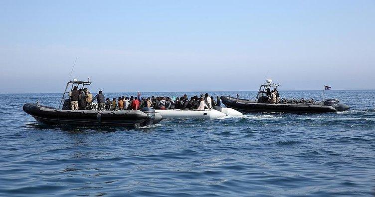 Libya açıklarında 139 kaçak göçmen kurtarıldı