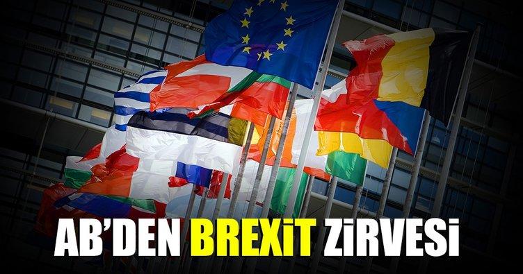 AB liderleri Brexit zirvesi düzenleyecek