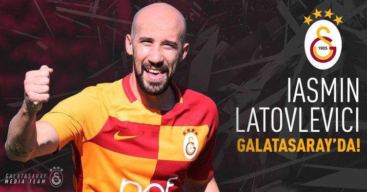 Iasmin Latovlevici resmen Galatasaray'da