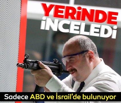 Sadece ABD ve İsrail'de bulunuyor: Bakan Varank yerinde inceledi