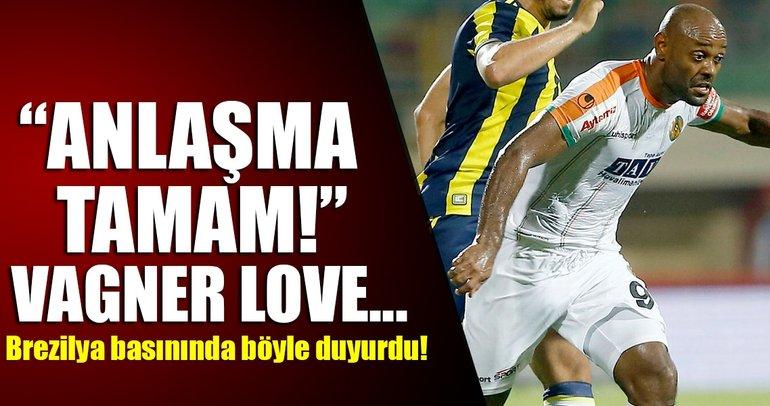 Beşiktaş, Vagner Love'ı bitirdi!