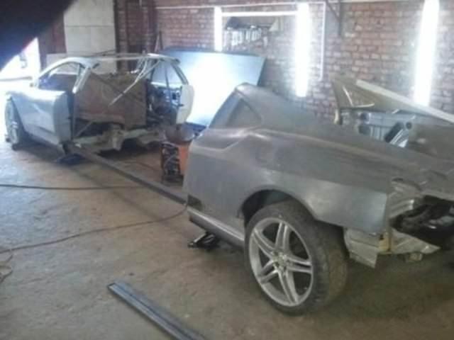 Eski otomobilin muhteşem değişimi!