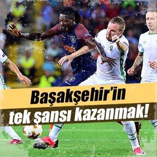 Medipol Başakşehir'in tek şansı galibiyet