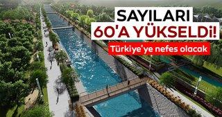 Türkiye'ye nefes olacak! Millet bahçelerinin sayısı 60'a yükseldi