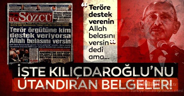 Kılıçdaroğlu'nu utandıran kanıtlar! İşte CHP'nin terör sicili...