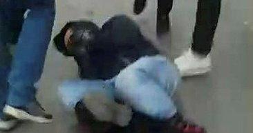 Son dakika: Banka soymaya kalkan şahsı vatandaşlar yakaladı