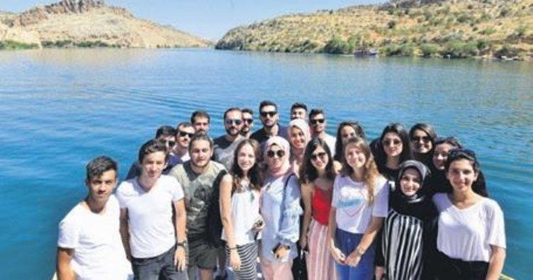 Gençler Anadolu'nun güzelliklerini gördü