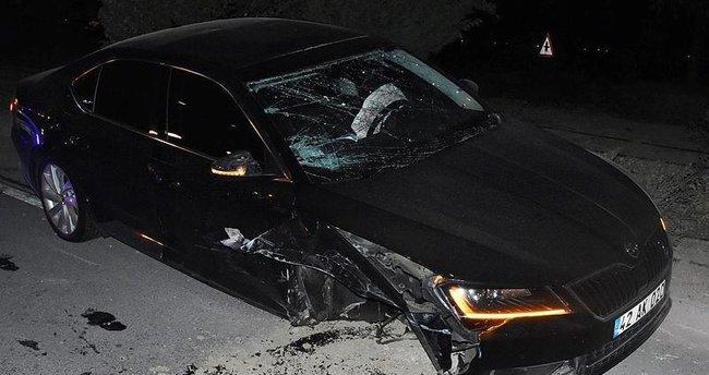 AK Parti Konya İl Başkanı kaza geçirdi