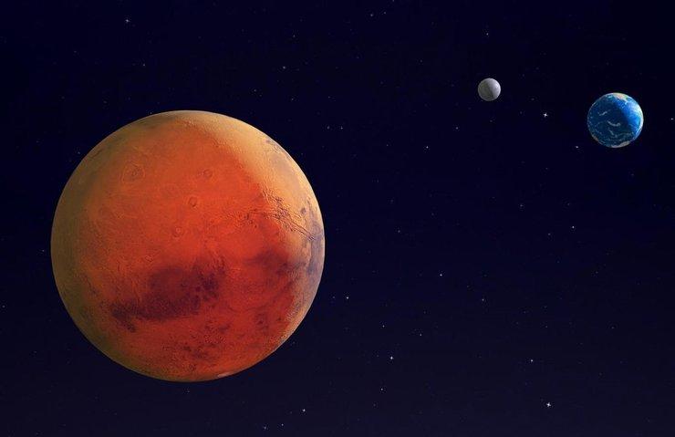 Kızıl gezegenle ilgili flaş iddia ortalığı karıştırdı