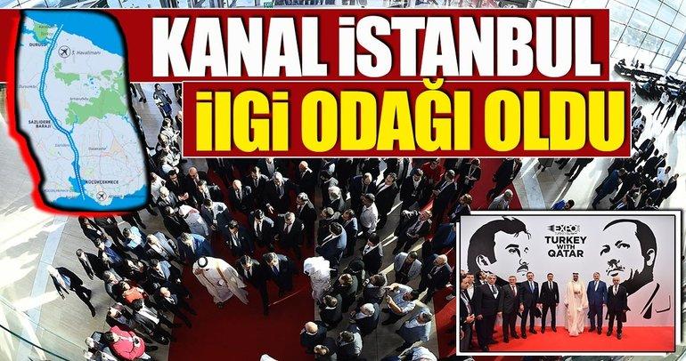 'Kanal İstanbul' ilgi odağı oldu