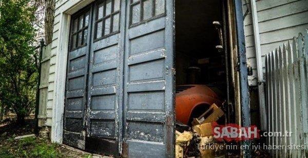 Yeni aldığı evin garajında onu bir sürpriz bekliyordu! Kapıyı açtığında gözlerine inanamadı...