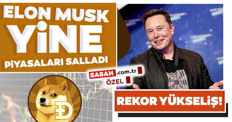 Son dakika haber: Yine Elon Musk yine Dogecoin: Kripto para yeniden ilk 10 arasına girdi