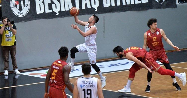 Beşiktaş Sompo Sigorta 74 - 68 Galatasaray Doğa Sigorta MAÇ SONUCU