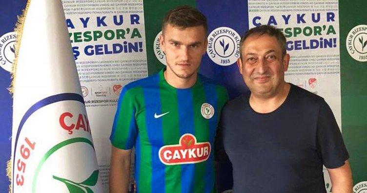 Çaykur Rizespor, Oleksandr Gladkiy'i renklerine bağladı