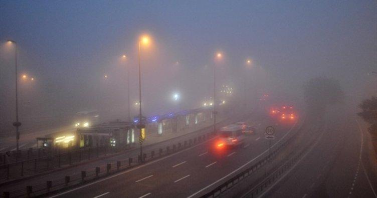 İstanbul güne sisle başladı