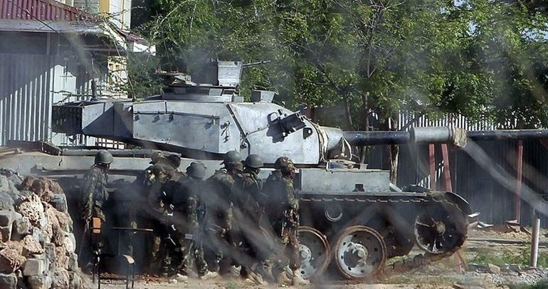 Somali ordusu, terör örgütü Eş-Şebab kontrolündeki kasabayı geri aldı